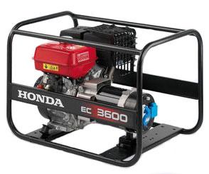 EC3600 Honda Unit (Engine & Alternator)