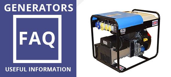Generators FAQ