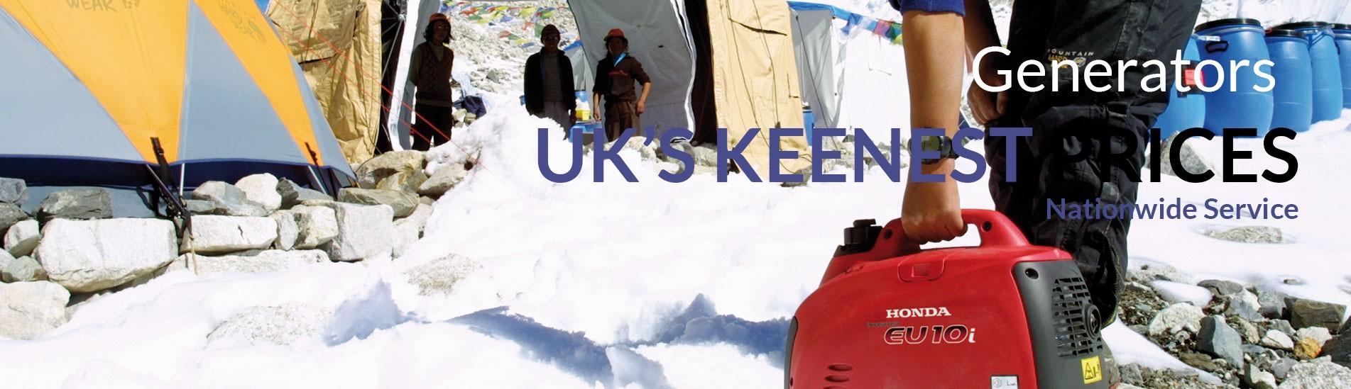 Generators - Uk;s Keenest prices